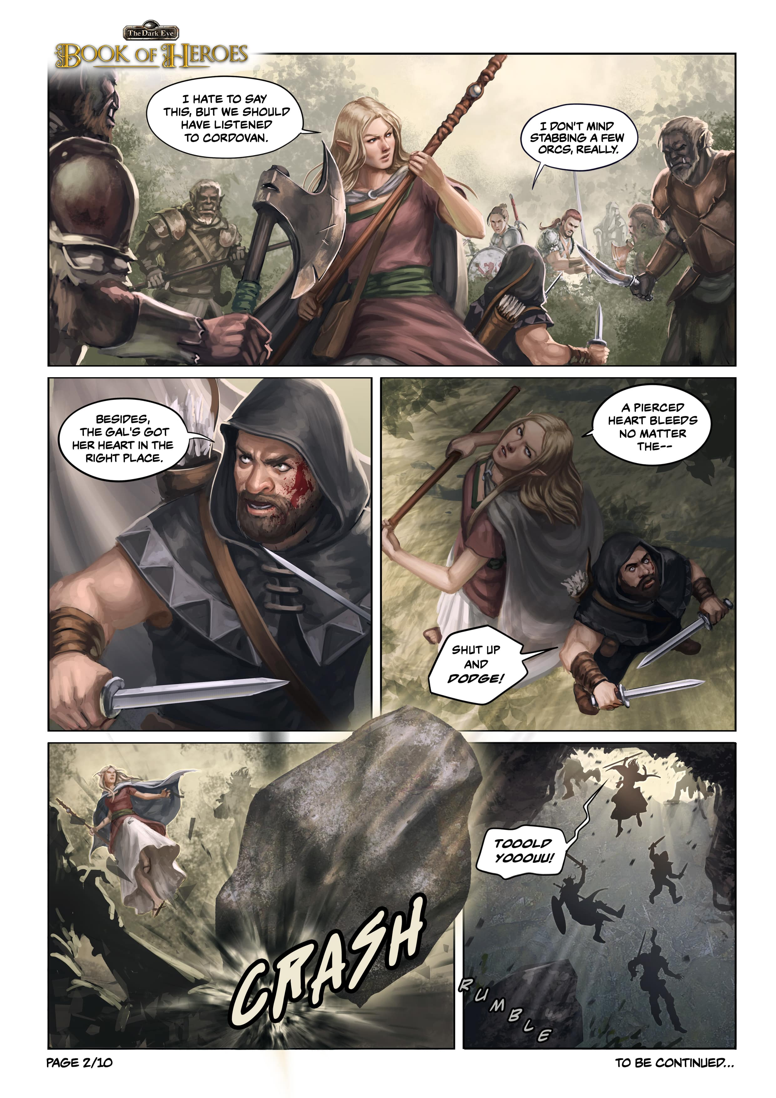 Book of Heroes Chapter 1 Page 2