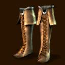 Geschnürte Lederstiefel  ~ ~ Кожаные сапоги со шнуровкой