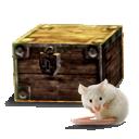 Neue Kiste zur Aufbewahrung der Mäuse