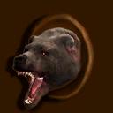 Jagdtrophäe Bär ~ ~ Охотничий трофей: медведь